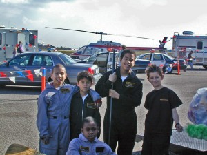 The first TAM Aviation Explorers at Torrance Airport