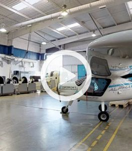 Click here for a 3D tour of our Tomorrow's Aeronautical Museum Hanger space